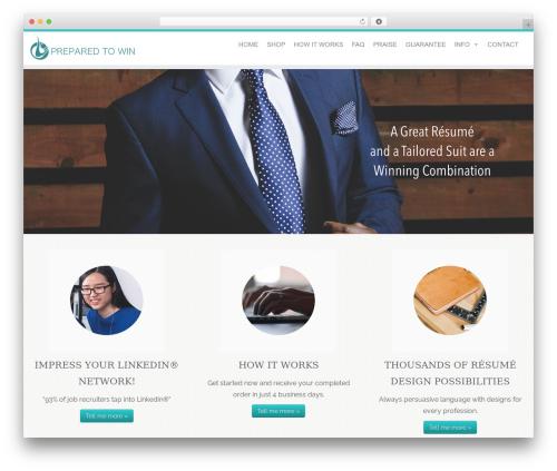 Customizr WordPress template free download - preparedtowin.com