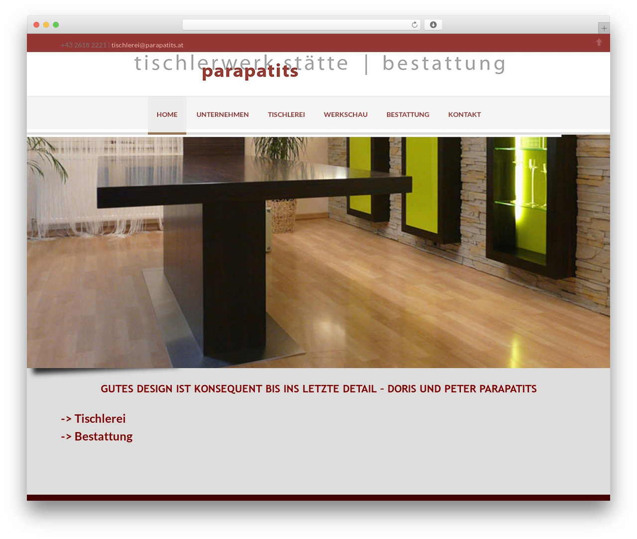 Delicate template WordPress - parapatits.at