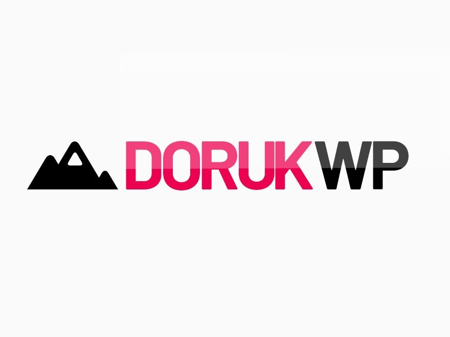 Doruk Wordpress Teması WordPress theme
