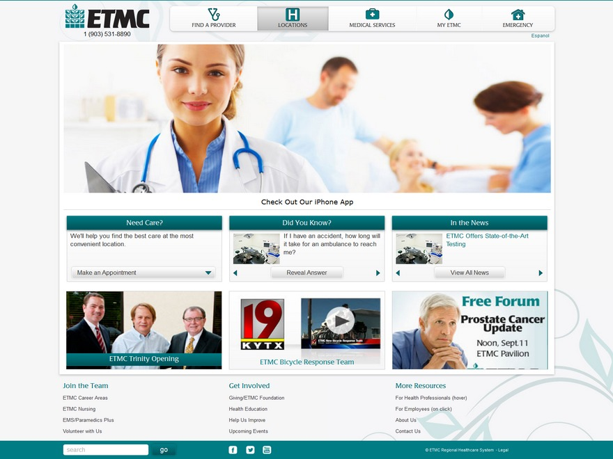 ETMC WordPress template