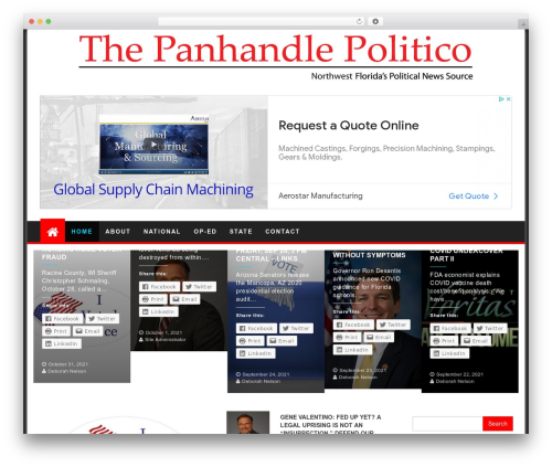 First Mag WordPress free download - panhandlepolitico.com