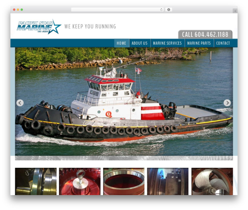 Legacy WordPress template - pacificstarmarine.com