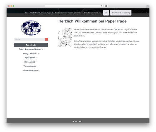 Page Builder Framework – Child template WordPress - papertrade.ch
