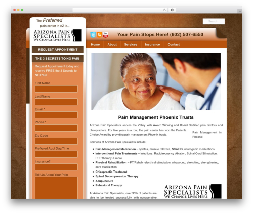 Pain Management Las Vegas WP template - painmanagementdoctorsphoenix.com