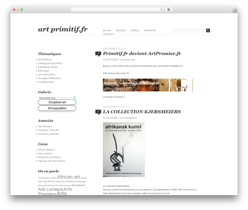 Theme WordPress Fifty Fifth Street - primitif.fr