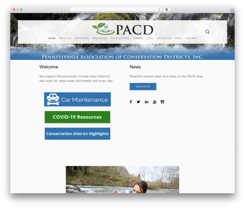 WordPress theme Avanti - pacd.org