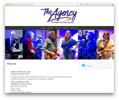 WordPress theme BlueGray - agencyrocks.com