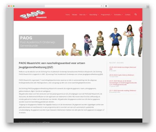 WordPress theme Salient - paogmaastricht.nl