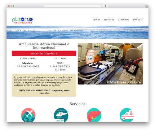 Best WordPress template ArkaHost - pluscare.com.mx