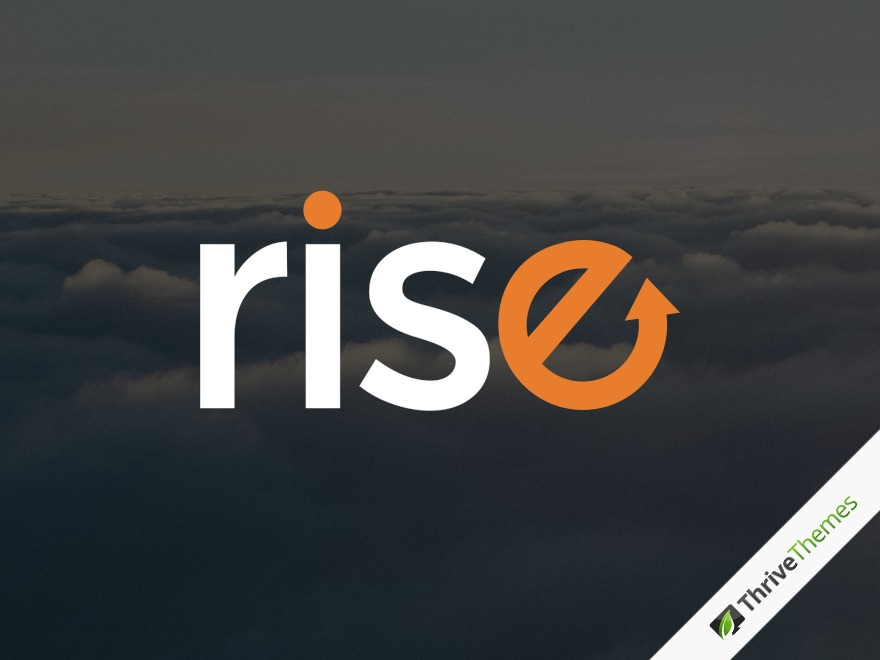 Best WordPress theme Rise Child Theme