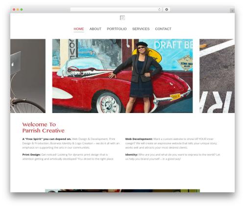 Chester company WordPress theme - parrishcreative.com
