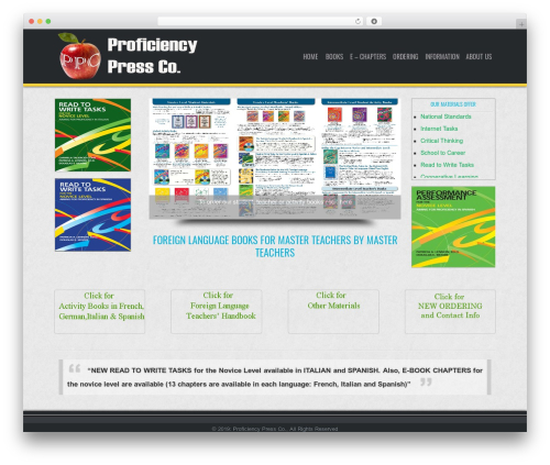D5 Business Line Extend company WordPress theme - proficiencypress.com