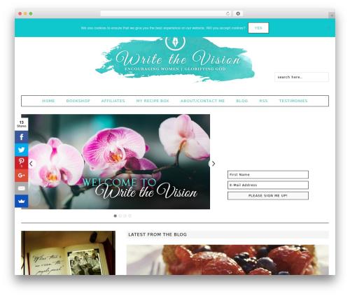 Fun WordPress Theme WordPress theme design - phyllissather.com