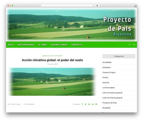 Higher Place theme WordPress - proyectodepais.com.ar