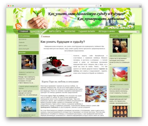 Theme WordPress natural-health - privorozhit-lyubimogo.ru
