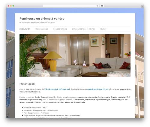 Twenty Twelve WordPress template free - penthouse-drome.com