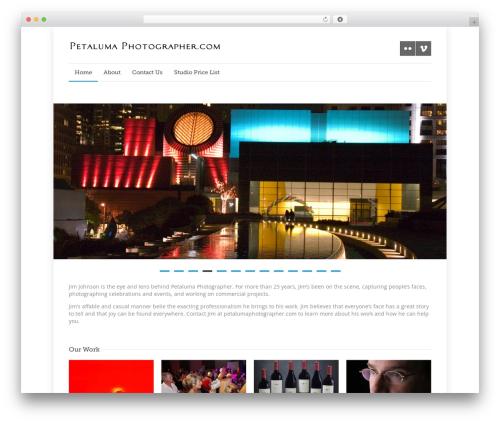 WP theme Quare - petalumaphotographer.com