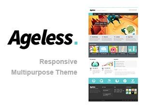 Ageless WordPress page template