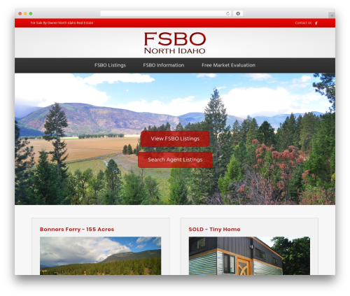 Beaver Builder Theme real estate WordPress theme - fsbonorthidaho.com