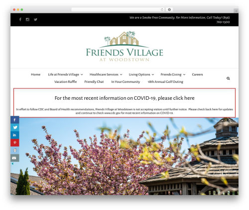 BeDENTIST best WordPress template - friendsvillage.org