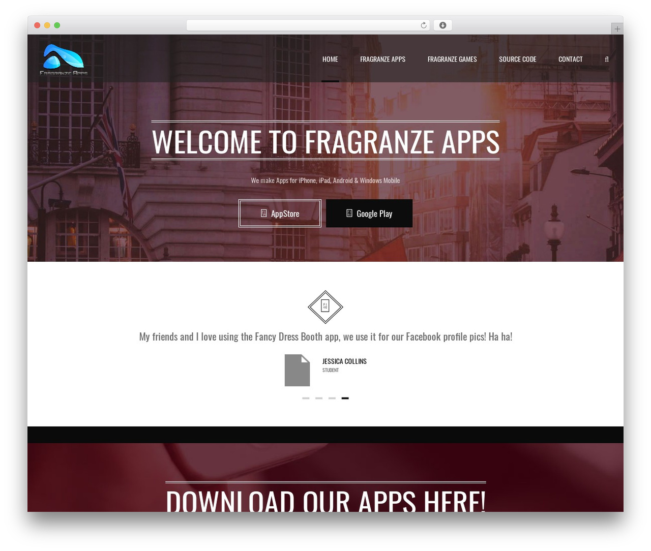 Best WordPress theme Applay - fragranzeapps.co.uk