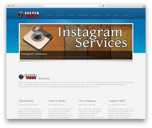 Colorwave premium WordPress theme - fasterviews.com