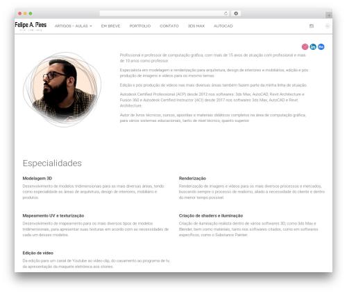 DW Fixel theme WordPress - fapires.com