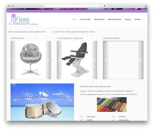Flat Responsive WordPress theme download - fiorebenesseregroup.com