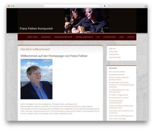 Levii WordPress page template - franz-fellner.com