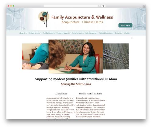 Modest massage WordPress theme - familyacupunctureandwellness.com