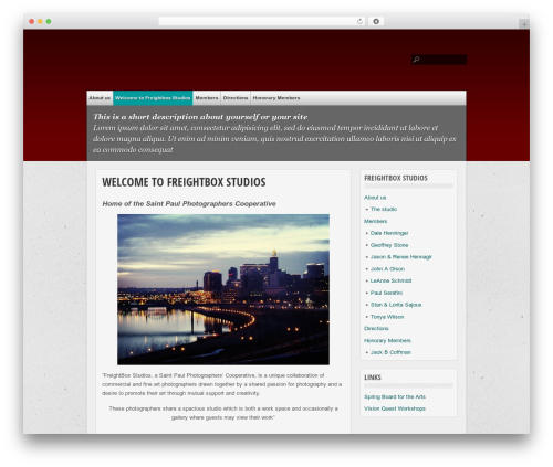 multi-color best WordPress template - freightboxstudios.com