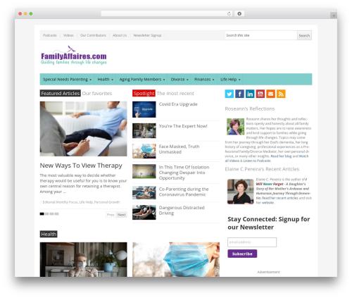 NewsPlus WordPress page template - familyaffaires.com