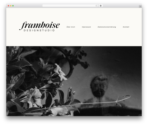 ProPhoto best WordPress template - framboise-design.eu