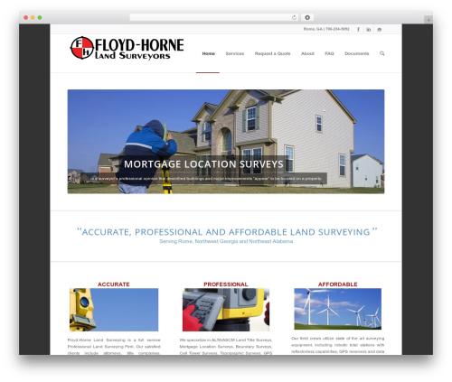 Theme WordPress Enfold - floydhorne.com