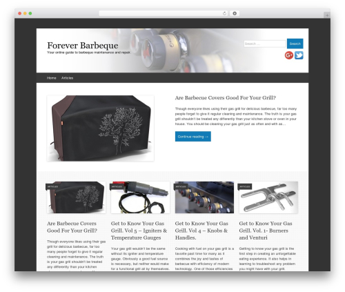 Theme WordPress Expound - foreverbarbeque.com