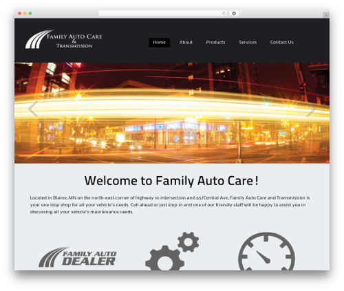 Theme WordPress ThemeAlley.Business - familyautocaremn.com