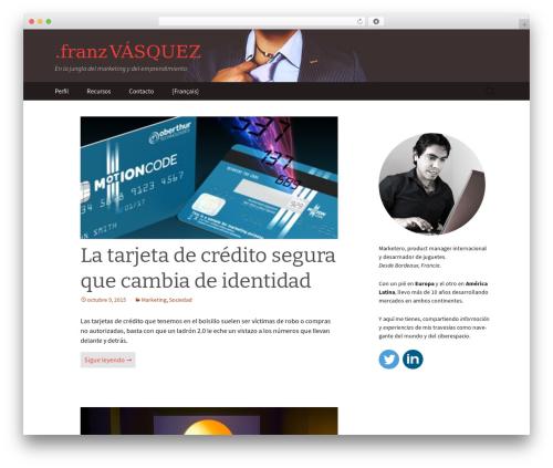 Twenty Thirteen WordPress template free download - franzvasquez.com