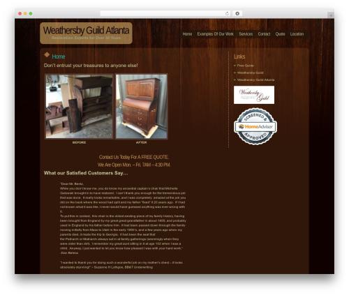 WordPress theme Dark Wood - furniturerepairatlanta.com