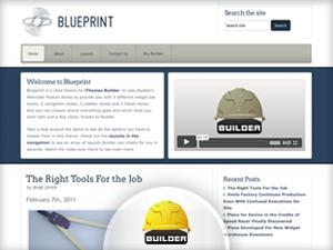 WP template Blueprint