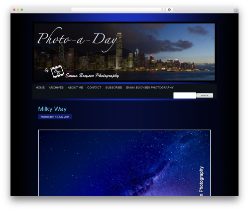 Best WordPress template ProPhoto - photoaday.co.za
