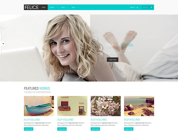 Felice Wordpress Theme best WordPress template