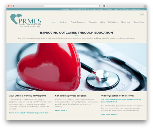 Flash free WordPress theme - prmes.com