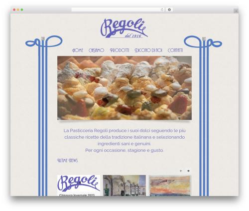 Linofeast best WordPress theme - pasticceriaregoli.com