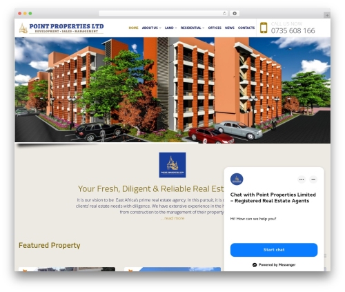 NOO Citilights real estate WordPress theme - pointproperties.org