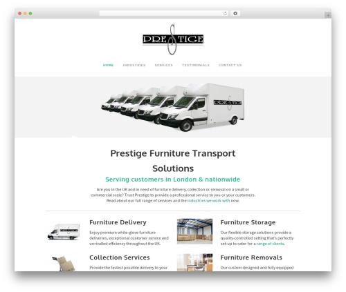 WordPress template Bridge - prestigetrans.co.uk