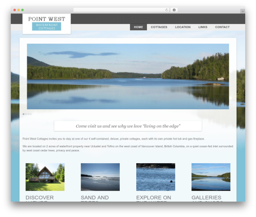 Free WordPress Responsive Lightbox & Gallery plugin - pointwestcottages.com