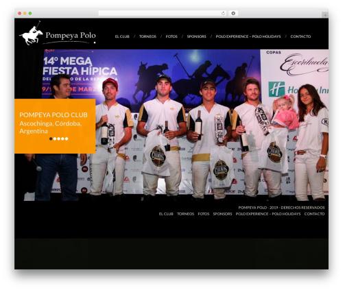 WordPress website template cherry - pompeyapolo.com.ar