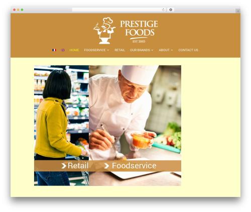 Free WordPress WP Simple Galleries plugin - prestigefoods.ie