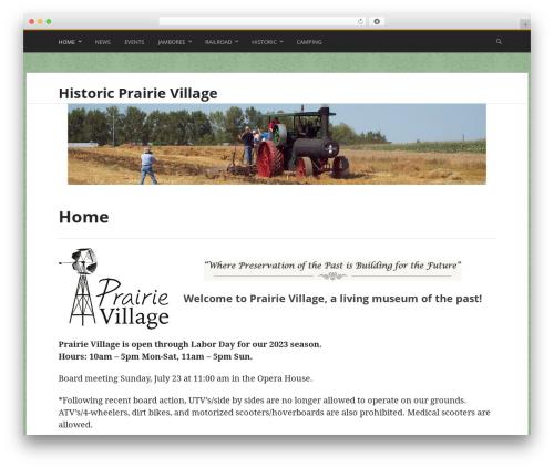 Stargazer WordPress theme download - prairievillage.org