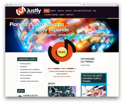 Tuned Balloon WordPress Theme best WordPress gallery by Anariel Design